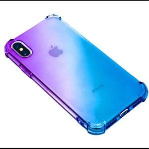 Gradient Color AntiShock IPhone X Case.